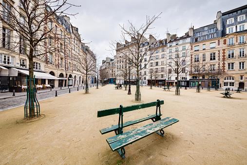 France「Place Dauphine」:スマホ壁紙(14)
