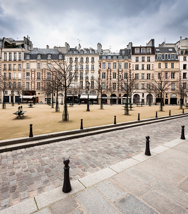 Post - Structure「Place Dauphine」:スマホ壁紙(8)