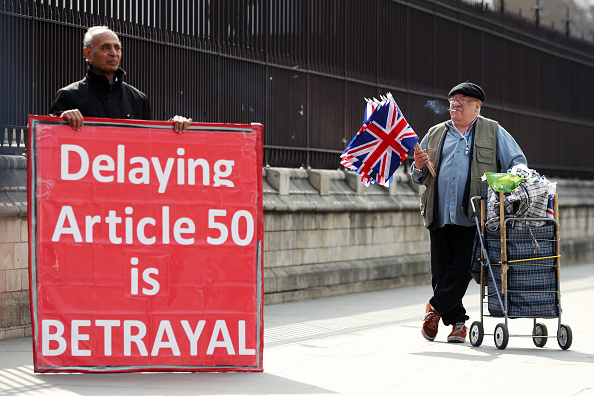 Brexit「The Prime Minister's Vow To Resign Fails To Break Brexit Deadlock」:写真・画像(10)[壁紙.com]