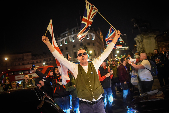 2016 European Union Referendum「Pro-Brexit Supporters Rally On The Day The UK Should Have Left The EU」:写真・画像(16)[壁紙.com]