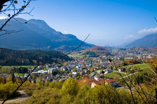 Salzkammergut「Town of Bad Ischl, Salzkammergut, Austria」:スマホ壁紙(4)
