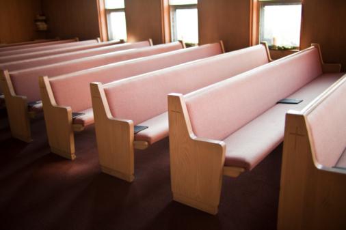 Focus On Foreground「Empty church pews」:スマホ壁紙(5)