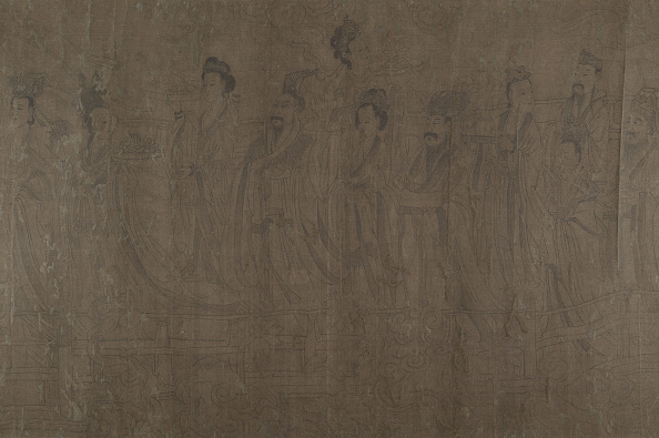 Circa 14th Century「Five Rulers At New Years Reception. Creator: Unknown.」:写真・画像(15)[壁紙.com]