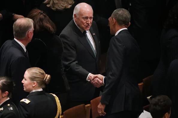 Chip Somodevilla「State Funeral Held For George H.W. Bush At The Washington National Cathedral」:写真・画像(12)[壁紙.com]