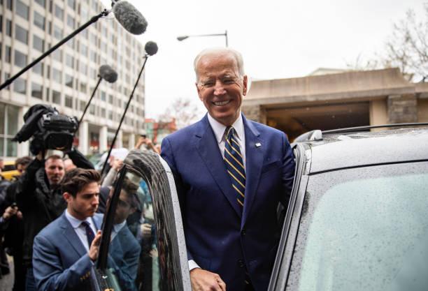 Former Vice President Joe Biden Delivers Remarks At IBEW Conference:ニュース(壁紙.com)