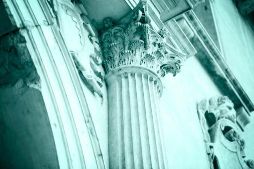 Deterioration「Corinthian Capital a Symbol of Former Glory」:スマホ壁紙(11)