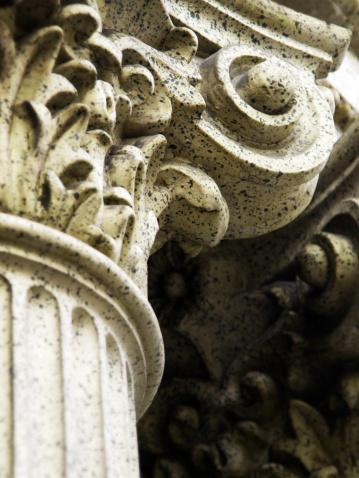 Roman「Corinthian Column Detail」:スマホ壁紙(19)