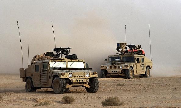 Mode of Transport「U.S. 3rd Division Moves Through Iraq」:写真・画像(10)[壁紙.com]