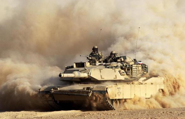 Iraq「U.S. 3rd Division Moves Through Iraq」:写真・画像(12)[壁紙.com]