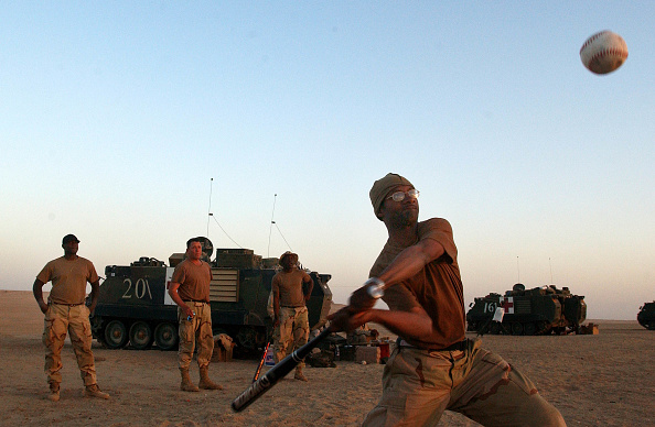 Baseball - Sport「U.S. Troops Prepare For War」:写真・画像(12)[壁紙.com]