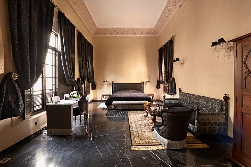 Palace「Morocco, Fes, Hotel Riad Fes, hotel room」:スマホ壁紙(7)
