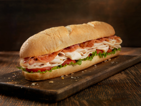 Cutting Board「Foot Long Turkey and Bacon Sub」:スマホ壁紙(3)
