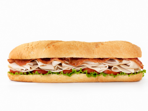 Bun - Bread「Foot long Turkey Club Submarine Sandwich」:スマホ壁紙(14)