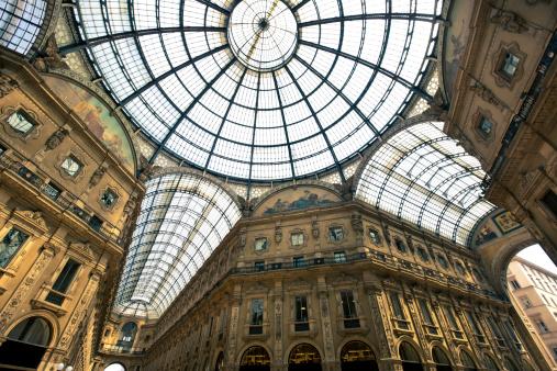 Milan「Milan Galleria Vittorio Emanuele II」:スマホ壁紙(19)