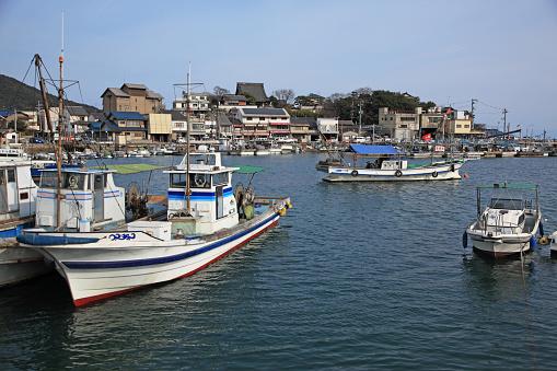 Japan「Tomonoura Harbor,  Fukuyama, Hiroshima, Japan」:スマホ壁紙(8)