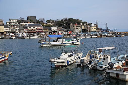 Japan「Tomonoura Harbor,  Fukuyama, Hiroshima, Japan」:スマホ壁紙(9)