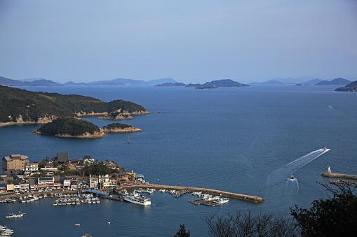 Japan「Tomonoura Harbor,  Fukuyama, Hiroshima, Japan」:スマホ壁紙(7)