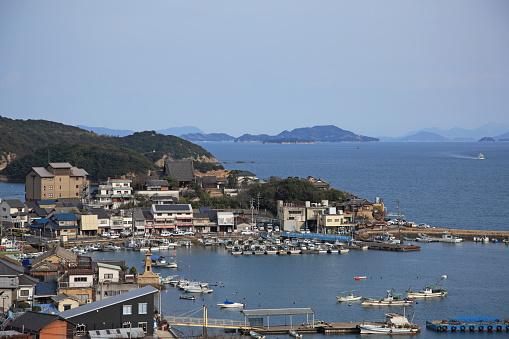 Japan「Tomonoura Harbor,  Fukuyama, Hiroshima, Japan」:スマホ壁紙(6)