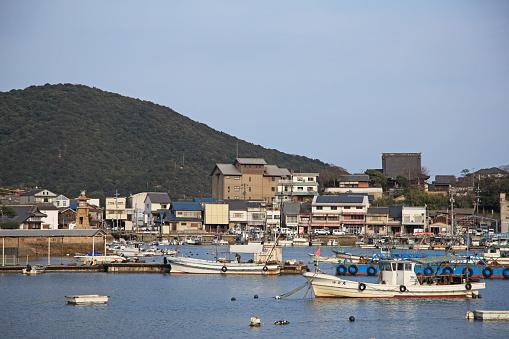 Japan「Tomonoura Harbor,  Fukuyama, Hiroshima, Japan」:スマホ壁紙(4)