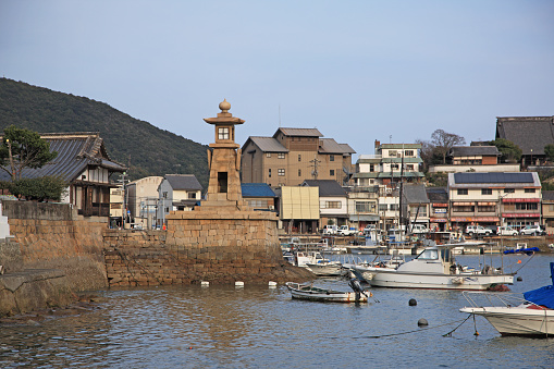 Japan「Tomonoura Harbor,  Fukuyama, Hiroshima, Japan」:スマホ壁紙(5)