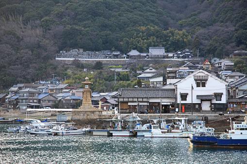 Japan「Tomonoura Harbor,  Fukuyama, Hiroshima, Japan」:スマホ壁紙(1)