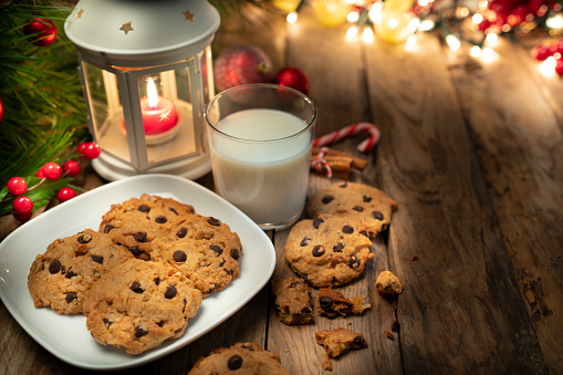 Candy Cane「Cookies and milk for Santa」:スマホ壁紙(0)