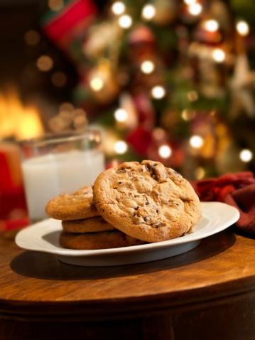Santa Claus「Cookies and Milk for Santa」:スマホ壁紙(10)