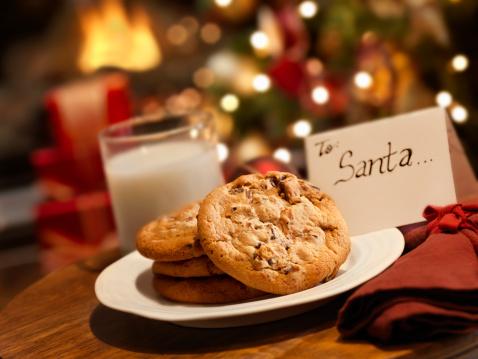 Crunchy「Cookies and Milk for Santa」:スマホ壁紙(10)