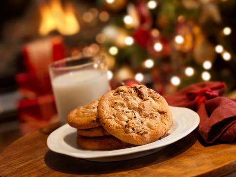 Crunchy「Cookies and Milk for Santa」:スマホ壁紙(14)