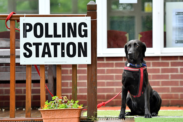 Polling Place「British Voters Go To The Polls In The 2017 General Election」:写真・画像(8)[壁紙.com]