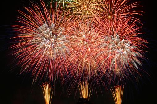 花火「Higashimatsuyama Fireworks Festival」:スマホ壁紙(19)