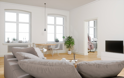 Chesterfield Sofa「Large apartment interior」:スマホ壁紙(12)