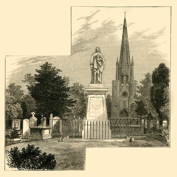 1870-1879「Dr Watts Monument」:写真・画像(9)[壁紙.com]
