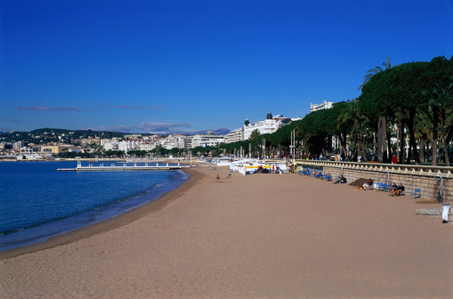 Cannes「Beach in Cannes」:スマホ壁紙(15)