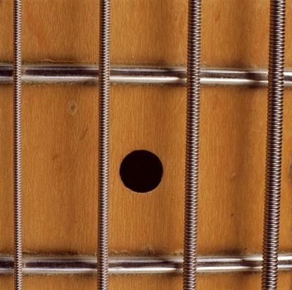 Bass Guitar「Strings on guitar, close-up」:スマホ壁紙(9)