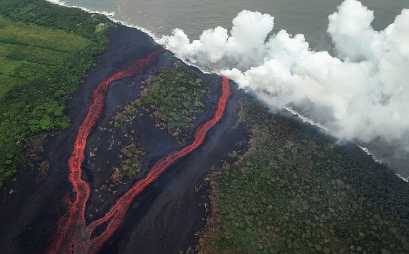 ベストショット「Hawaii's Kilauea Volcano Erupts Forcing Evacuations」:写真・画像(14)[壁紙.com]