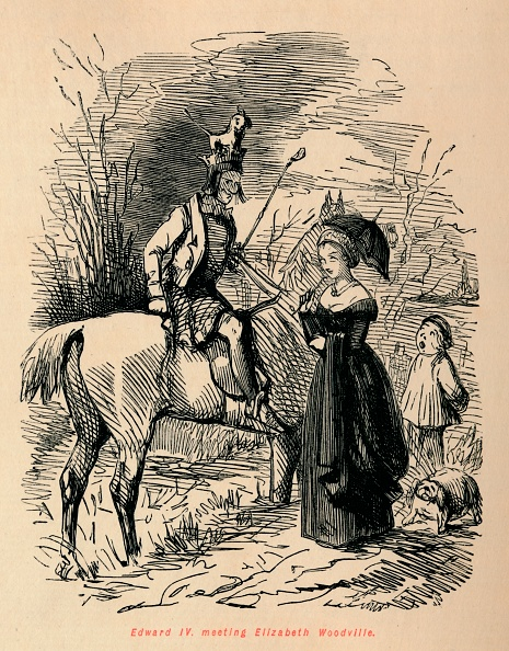 動物「Edward Iv Meeting Elizabeth Woodville」:写真・画像(6)[壁紙.com]
