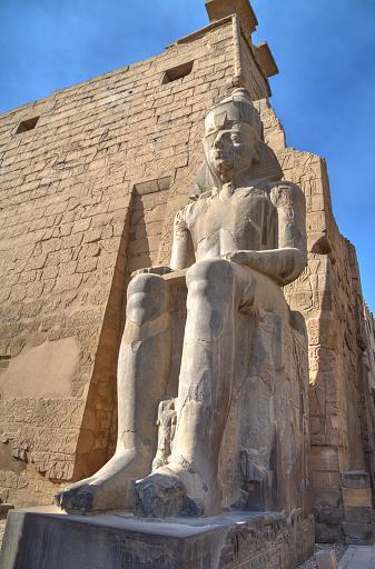 High Dynamic Range Imaging「Colossus of Ramses II, Luxor Temple」:スマホ壁紙(12)