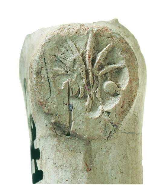 Clay tobacco pipe bowl with wheatsheaf symbol c 1610–40; from the 1988–90 excavations at the Rose playhouse, 2–10 Southwark Bridge Road, London:ニュース(壁紙.com)