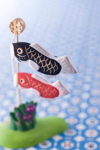 こいのぼり「Carp streamer's ornament」:スマホ壁紙(16)