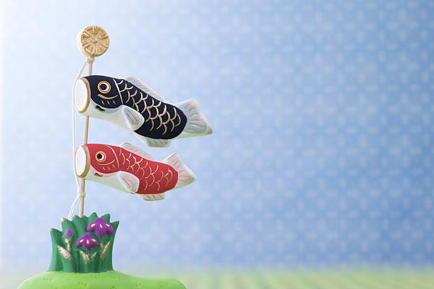 Carp streamer's ornament:スマホ壁紙(壁紙.com)