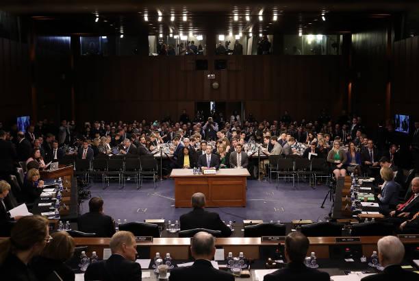 Facebook CEO Mark Zuckerberg Testifies At Joint Senate Commerce/Judiciary Hearing:ニュース(壁紙.com)