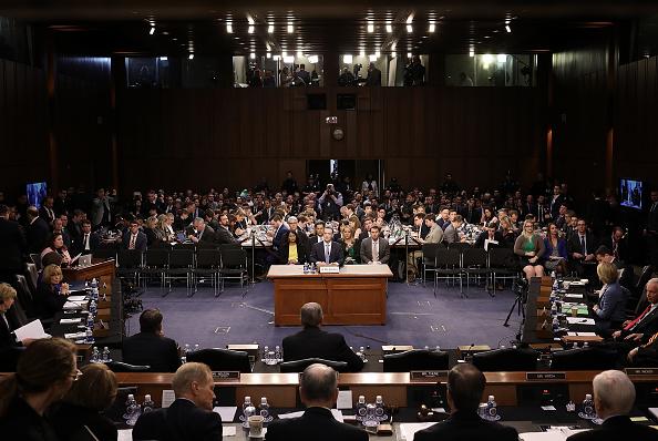 Court Hearing「Facebook CEO Mark Zuckerberg Testifies At Joint Senate Commerce/Judiciary Hearing」:写真・画像(12)[壁紙.com]