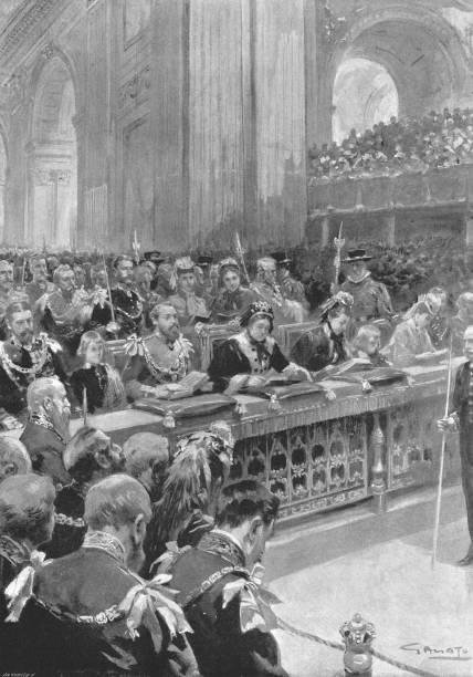 The Thanksgiving Service For The Recovery Of The Prince Of Wales1872:ニュース(壁紙.com)