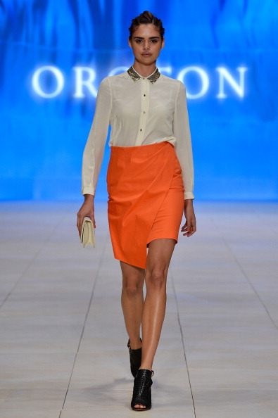 Black Shoe「MBFFS 2012: Oroton - Catwalk」:写真・画像(9)[壁紙.com]