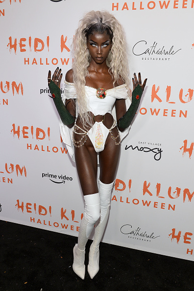 Annual Event「Heidi Klum's 20th Annual Halloween Party Presented By Amazon Prime Video And SVEDKA Vodka At Cathédrale New York - Arrivals」:写真・画像(17)[壁紙.com]