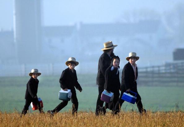Pennsylvania「Months After Tragedy, Amish Children Get New Schoolhouse」:写真・画像(5)[壁紙.com]