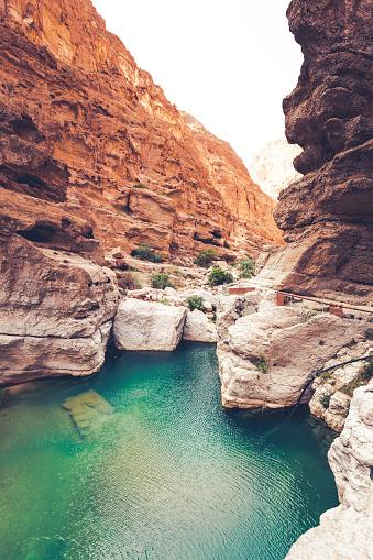 Riverbed「wadi shab riverbed, oman」:スマホ壁紙(10)