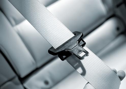 Extreme Close-Up「Seat belt Interior of modern car close up」:スマホ壁紙(4)