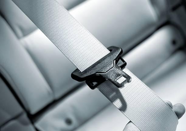 Seat belt Interior of modern car close up:スマホ壁紙(壁紙.com)